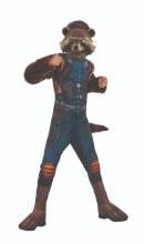 Rocket Raccoon Dlx Child Large