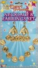 Coins Necklace & Earring Set