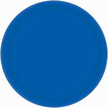 Bright Royal Blue 7in Plates