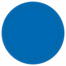 Marine Blue 7in Plates