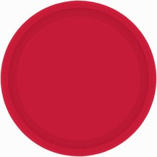 Apple Red 7in Plates