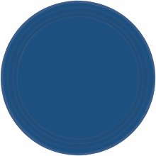 Navy Flag Blue 7in Plates