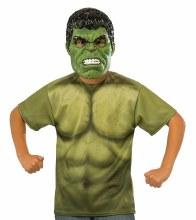 Hulk TShirt w/ Mask Child Med