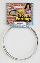 Earing Jumbo Hoop Silver