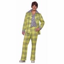 Leisure Suit Green Plaid ADLT
