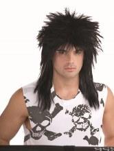 Wig Unisex Rockstar Black