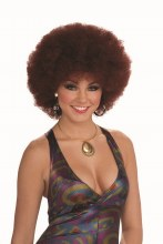 Wig Afro Natural Red