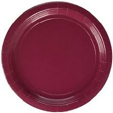 Berry 9in Paper Plates 20ct