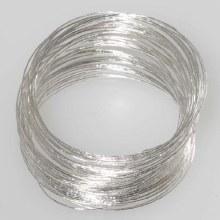 Bangle Braclets Silver 50pc