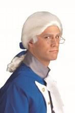 Wig Historical White