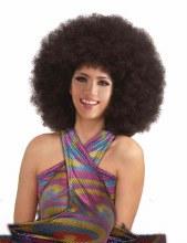 Wig Mega Fro Brown