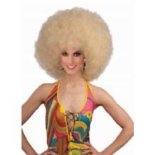 Wig Mega Fro Blonde