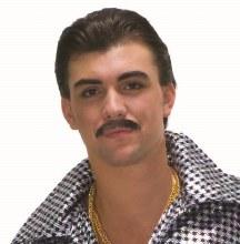 Moustache Gentleman Black