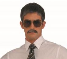 Moustache Gentleman Grey