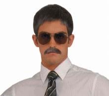 Moustache Gentleman Brown