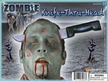 Knife Thru Head Zombie