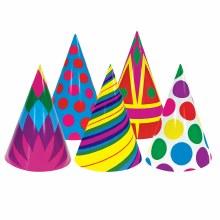 Hats Party Print Asst