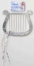 Harp Silver Plastic