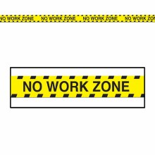Party Tape No Work Zone