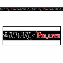 Party Tape Beware of Pirates