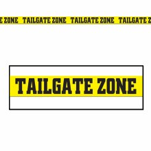 Party Tape Tailgate Zone