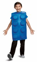 Lego Brick Blue Child Medium