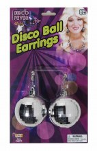 Earings Disco Ball