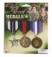 Medals Military 3pc