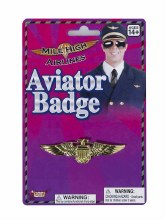 Aviator Badge Gold