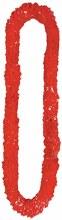 Lei Plastic Red 2.5in
