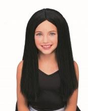 Wig Long Child Black