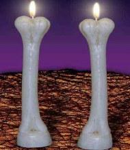 Bone Candles 2pk