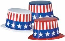 Patriotic Plastic Toppers Asst