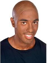 Rubie's Dark Brown Bald Cap