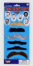Moustache 6pc Party Set