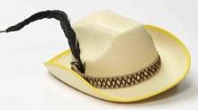 Hat Cowboy Brown w/ Feather