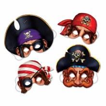 Masks Pirate Asst