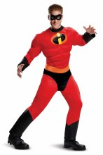 Mr. Incredible Muscle Adult XL