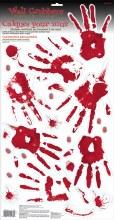Skeleton Hand Prints Wall