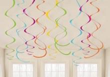 Swirl Decor Paper Multi Color