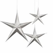 Star Hanging 3pk