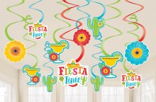 Fiesta Swirl Decor
