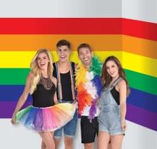 Photo Booth Scene Rainbow Pride