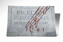 Footstone Freddy Krueger