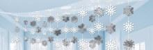 Let It Snow Ceiling Decor