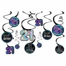 Finally 21 Swirl Decor