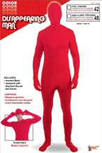 Disappearing Man Red Standard Size