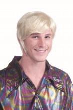 Wig 70's Guy Blonde