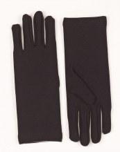 Gloves Short Nylon Black