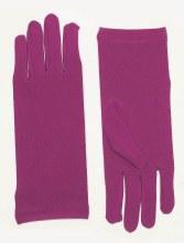 Gloves Short Nylon Purple